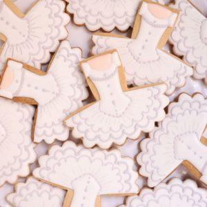 バレエ教室のプチギフトにアイシングクッキー
