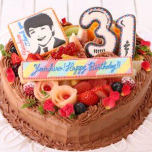 特別な誕生日プレゼントのアイシングクッキー
