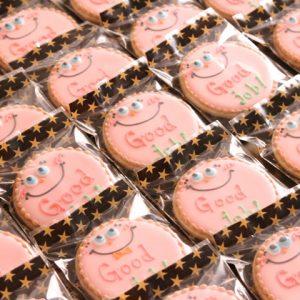 販促用のお菓子やノベリティ品のアイシングクッキー