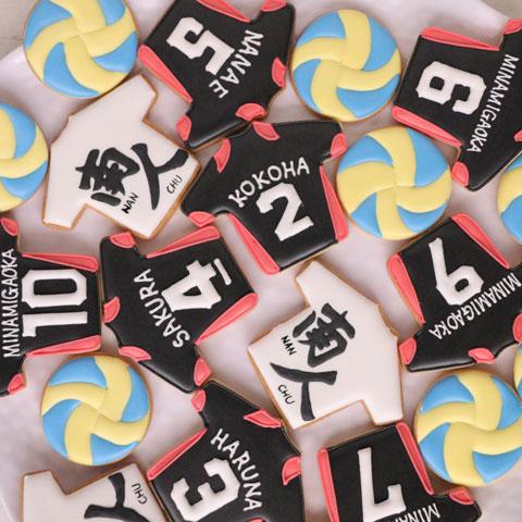 名入れやロゴ入りのオリジナルアイシングクッキー